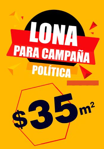 Promoción Lona Campaña Política